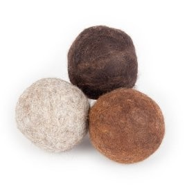 Nomad Women Wool Dryer Balls 3-Pack